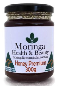 Moringa Farm Australia Raw Premium Moringa honey 300G